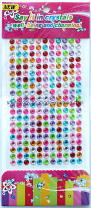 Multicolor Round Gem Borders/Rhinestone Sticker/Acrylic Border pictures & photos