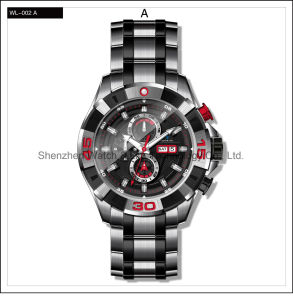 Stainless Steel High Quality Sport Men′s Automatic Watches Wrist Watch pictures & photos