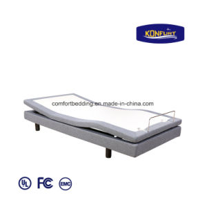 Science Sleep Remote Control LED Lighting Adjustable Massage Furniture Bed pictures & photos