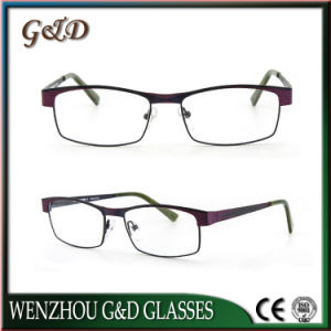 Latest Design Stainless Spectacle Frame Eyewear Eyeglasses Optical Frame 46-050 pictures & photos