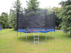 Professional Outdoor Trampoline for Kids and Adults Fitness Equipment pictures & photos
