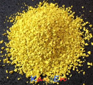 UV Stability - EPDM Granule (KE04 Yellow) pictures & photos