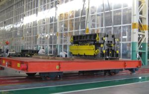 50-500ton Material Handling Electric Transfer Cart for Steel Factory pictures & photos