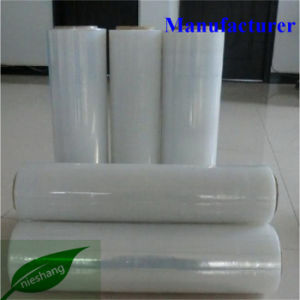 Casting Clear Pallet Wrap Hand Machine LLDPE PE Stretch Film pictures & photos