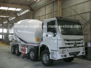 Sinotruk HOWO 8X4 Mixer Truck pictures & photos