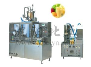 Semi Automatic Gable Top Carton Packing Machine (BW-1000-3) pictures & photos