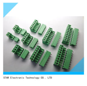 China Factory Male Female PCB Screw Terminal Block pictures & photos
