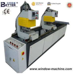 High Quality Double Head Plastic Window Welding Machine pictures & photos