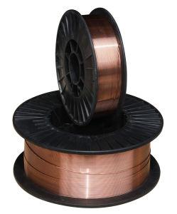 China Factory Manufacturing MIG Welding Wire/ Alambre De Soldadura (AWS ER70S-6/SG2)