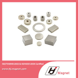 N30-N35ah ISO/Ts16949 Certificated Permanent Neodymium Custom Ring Permanent NdFeB/Neodymium Magnet for Motors pictures & photos