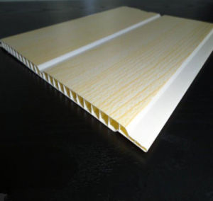 200*6mm China Manufacturer Light Weight Ceiling Decoration PVC Board (RN-114) pictures & photos
