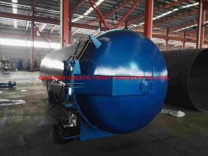 2017 New High Quality Level Rubber Autoclave with PLC Automatic Control System pictures & photos