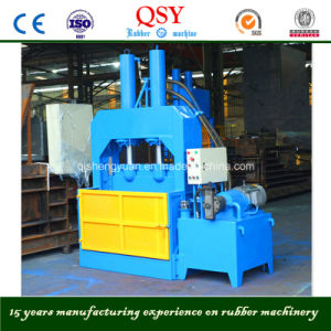 Hydraulic Rubber Cutting Machine (XQL-80, XQL-160) , Rubber Bale Cutter with ISO and Ce pictures & photos