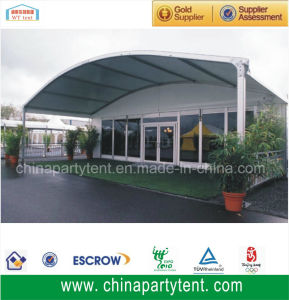 2015 New Arcum Tent 15X50m Luxury VIP Glass Tents