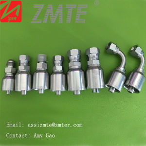 Zmte43-06-06 Mj Rubber Hydraulic Hose One Piece Fittings pictures & photos