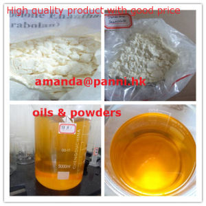 Raw Trenbolone Enanthate Powder Oil Trenbolone Enanthate 100mg/Ml Injections pictures & photos