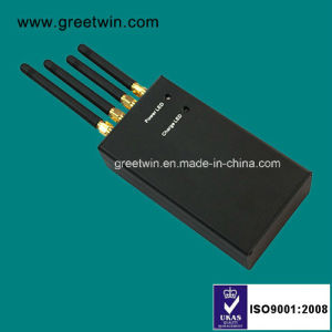 Handheld Cell Phone Signal Jammer/Stationary Jamming Systems (GW-JN4) pictures & photos