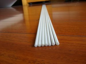 Dia 4mm White Length 6 Meters Fiberglass Curtain Rod pictures & photos
