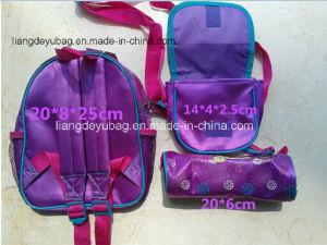 Cute Kid School Backpack in Three-Piece Suit