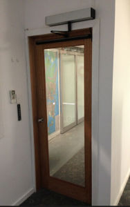 High Quality Automatic Swing Door with Low Price and CE (DS-S180) pictures & photos