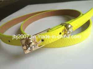 New Girl′s Skinny Belt (JBJ-S20140506)