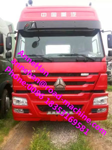 Sinotruk HOWO7 Tractor Truck Prime Mover Truck Horse Truck with Euroii Emission and 371HP 6X4 10tires with Two Beds