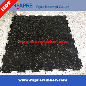 Interlocking / Puzzle Rubber Gym Floor Mat/ Interlocking Rubber Tiles/Gym Equipment pictures & photos