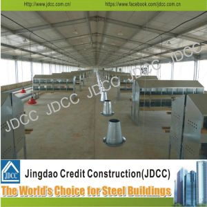 Galvanized Steel Structure Chicken Poultry House pictures & photos