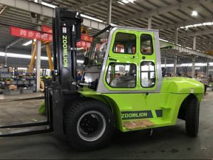 Powerful Diesel Motor Forklifter 10tons Fork Lift Truck pictures & photos
