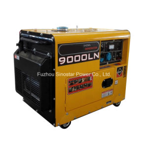 5kVA 5kw Portable Silent Air Cooled Series Diesel Generator Sets pictures & photos