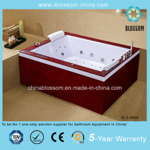 Luxury Freestanding Square Whirpool Massage Jacuzzi/SPA Bathtub (BLS-8668) pictures & photos
