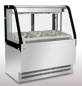Curved Cold Bain Marie Showcase (FGCB1000LM) pictures & photos