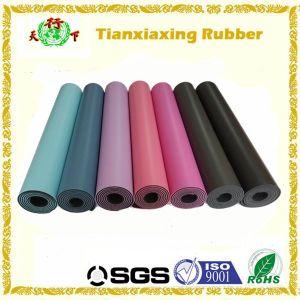 PU Leather PU Rubber Yoga Mat Manufacturer