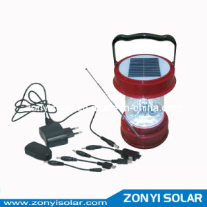 Solar Lantern Light with Radio and Mobile Charger pictures & photos