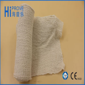 Spandex Crepe Elastic Bandage/Medical High Elastic Bandage/Cotton Crepe Bandage pictures & photos