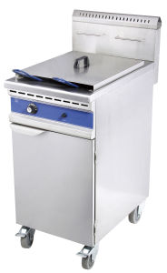 Gas Fryer with Cabinet Gf-481/C pictures & photos