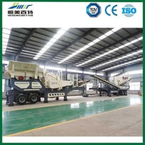 Mobile Impact Stone Crusher with High Output pictures & photos