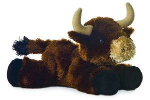 Super Soft and Plush Stuffed Animal Bull pictures & photos