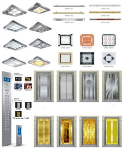 Sightseeing Elevator Glass Panoramic Elevator/Lift with Machine Room (G04) pictures & photos