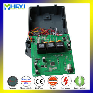 Three Phase Four Wire Multi Tariff Digital Electricity Meter pictures & photos