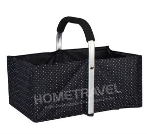 2017 New Design Exclusive Foldable Shopping Basket pictures & photos