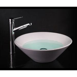 Contemporary Brass Sanitary Ware Bathroom Faucet Single Handle Mixer pictures & photos