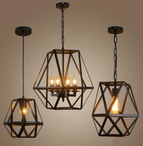 Metal Frame Pendant Lamp (WHP-348) pictures & photos