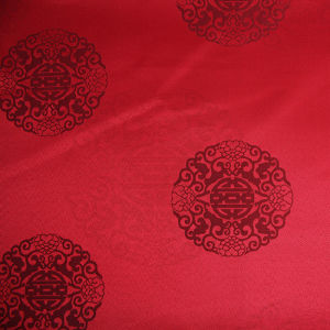 100% Polyester Dyed Jacquard Chiffon Fabric pictures & photos