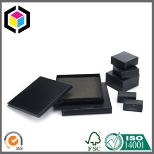 Four Color Print Rigid Cardboard Jewelry Paper Packing Box pictures & photos