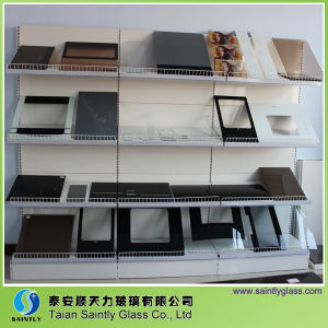 White or Black Silk Screen Tempered Glass pictures & photos