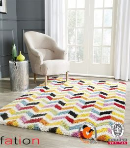 Colorful 3D Shaggy Designs Bedroom Home Area Rugs