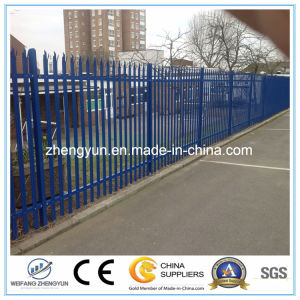 Single Point Palisade Steel Fence/Garden Fence pictures & photos
