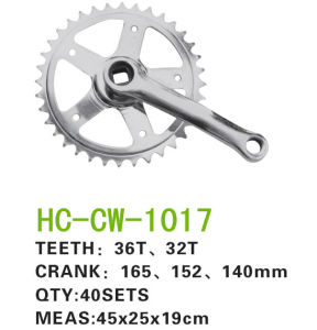 Bicycle Chainwheel Crank Bicycle Parts (CW-1017) pictures & photos