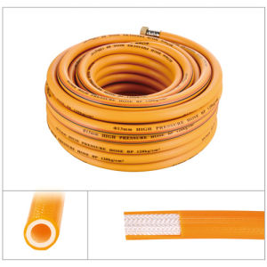 PVC Tube / 8.5mm Braided High-Pressure Spray Hose pictures & photos